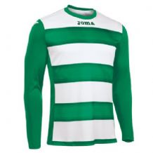 JOMA Europa III Jersey - Green / White (Long Sleeve)